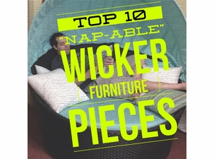 """10 Most """"Nap-Able"""" Wicker Furniture Pieces"""