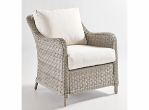 Antiqua Outdoor Wicker Chair