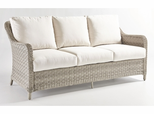 Antiqua Outdoor Wicker Sofa