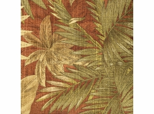 Bahamian Breeze Cinnamon: Indoor/Outdoor Fabric