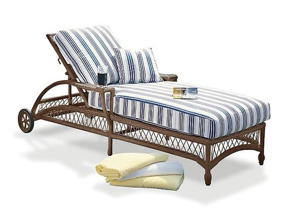 Bar Harbor/Harbor Breeze Adjustable Chaise Cushions