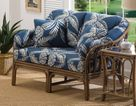 Bel Air Rattan Loveseat
