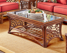 Belize Rattan Coffee Table