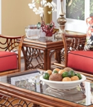 Belize Rattan End Table