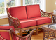 Rattan Loveseat - Belize
