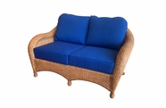 Bermuda Wicker Loveseat
