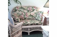 Biscayne Wicker Loveseat