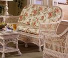Biscayne Wicker Sofa