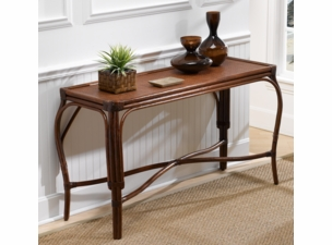 Bonita Springs Rattan Console Table