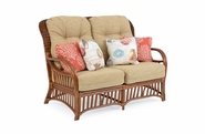 Bradenton Rattan Loveseat