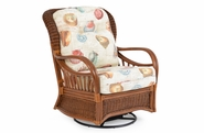 Bradenton Rattan Swivel Glider Chair