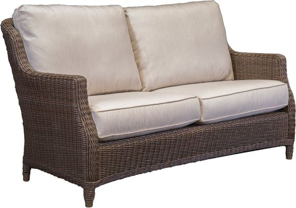 Brighton Outdoor Wicker Loveseat