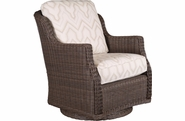 Brighton Outdoor Wicker Swivel Glider