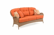 Buckingham Outdoor Wicker Sofa - Driftwood Finish