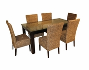 Cabo Seagrass Dining Set