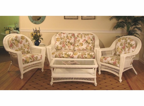Cape Cod Deep Seating Resin Wicker