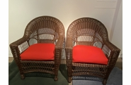 Cape Cod set of 2 Chairs Chocolate Brown