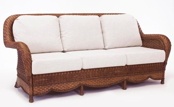 Casablanca Wicker Sofa