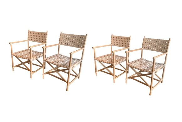 Cayman Rattan Dining Chair - Set of 4