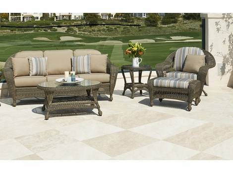 Charleston Outdoor Wicker Collection