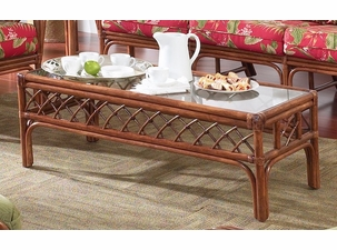 Cherry Tree Rattan Coffee Table