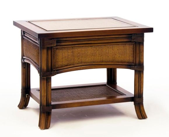 Clearwater Rattan End Table