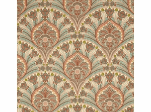 crescent-beach-coral: Indoor/Outdoor Fabric