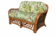 Crystal Lake Rattan Loveseat