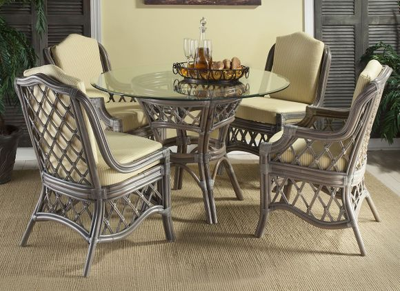 Destin Rattan Dining Set of 5