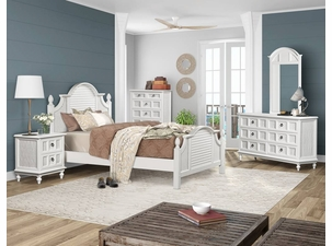 Destin Wicker Bedroom Collection