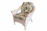Diamond Wicker Chair