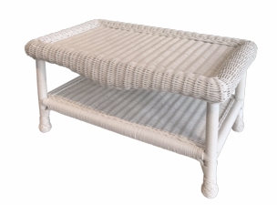 Diamond Wicker Coffee Table