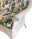 Diamond Wicker Loveseat -