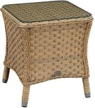 El Dorado Outdoor Wicker End Table