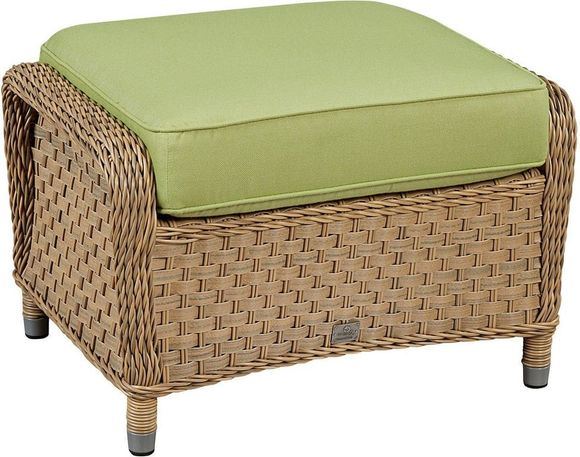 El Dorado Outdoor Wicker Ottoman