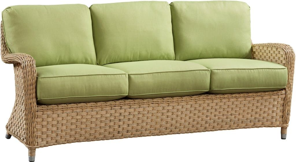 El Dorado Outdoor Wicker Sofa 1 Jpg