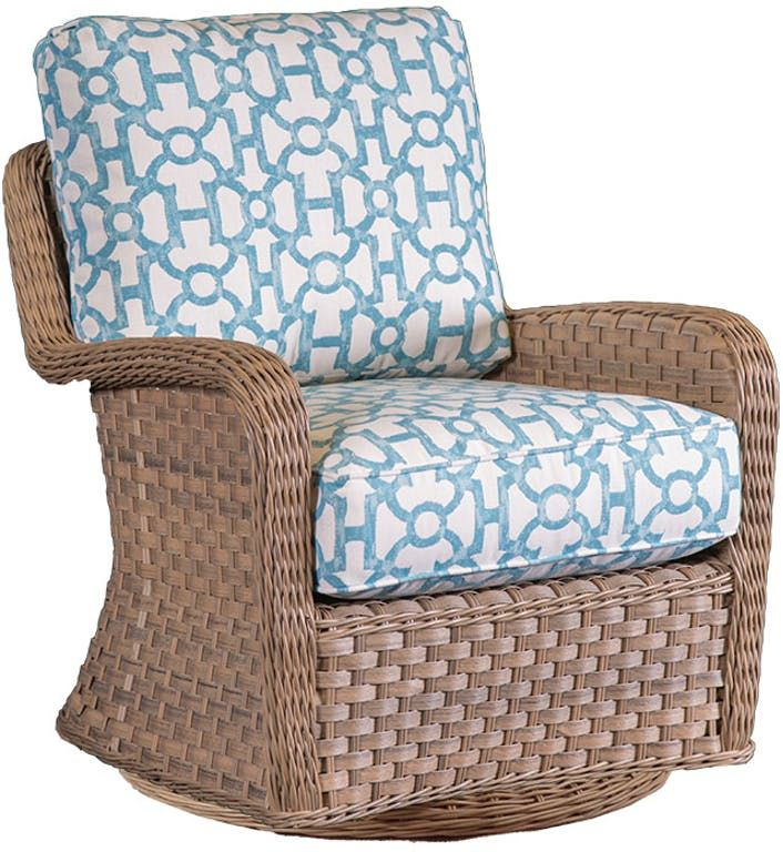 El Dorado Outdoor Wicker Swivel Glider 1 Jpg