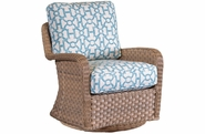 El Dorado Outdoor Wicker Swivel Glider