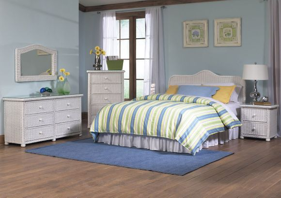 Elana Wicker Bedroom Set of 5