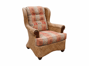 Fort Myers Rattan Chair
