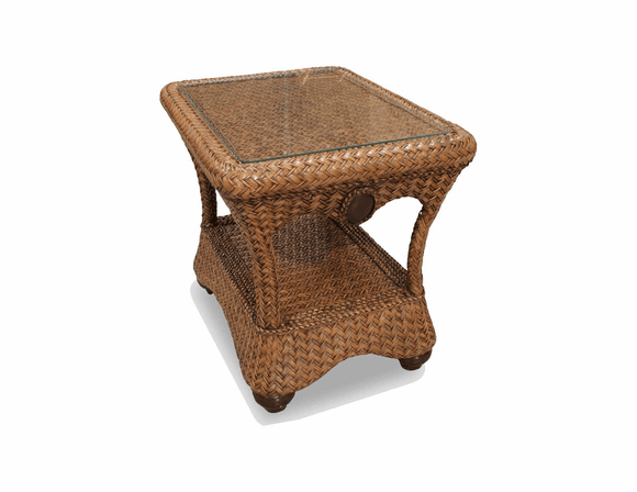 Fort Myers Rattan End Table