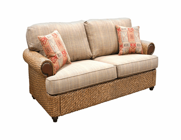 Fort Myers Rattan Loveseat