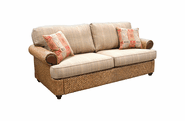 Fort Myers Rattan Sleep Sofa