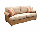 Fort Myers Rattan Sofa
