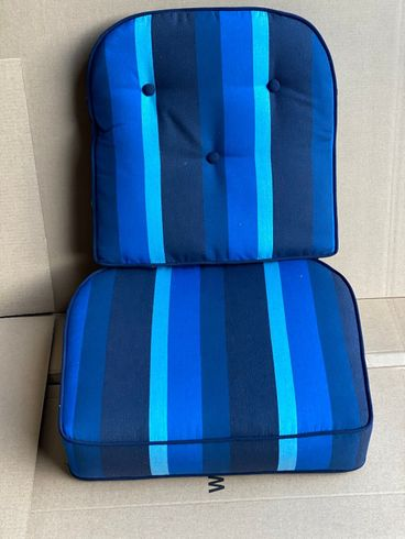 Front Porch Chair/Rocker Cushion-Milano Cobalt  Closeout only 1 left