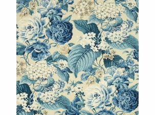Garden Party Porcelain: Indoor/Outdoor Fabric