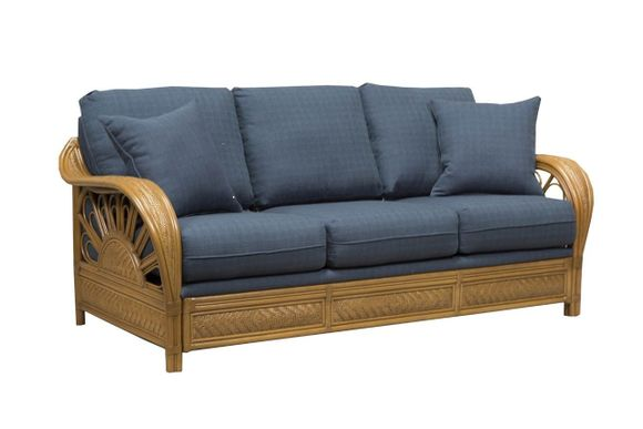 Grand Cayman Rattan Sleeper Sofa