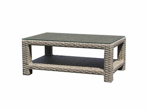 Grand Staffod Outdoor Wicker Coffee Table