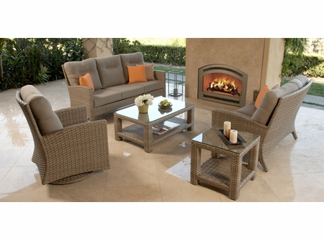 Grand Staffod Outdoor Wicker Collection