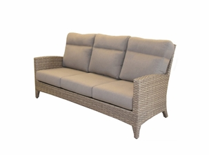 Grand Staffod Outdoor Wicker Sofa
